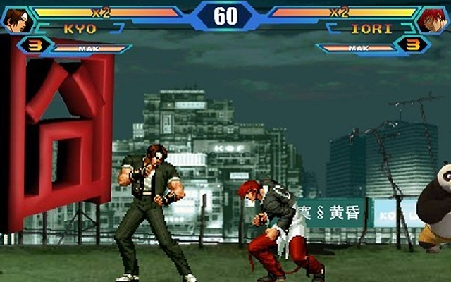 King of fighters kof wing